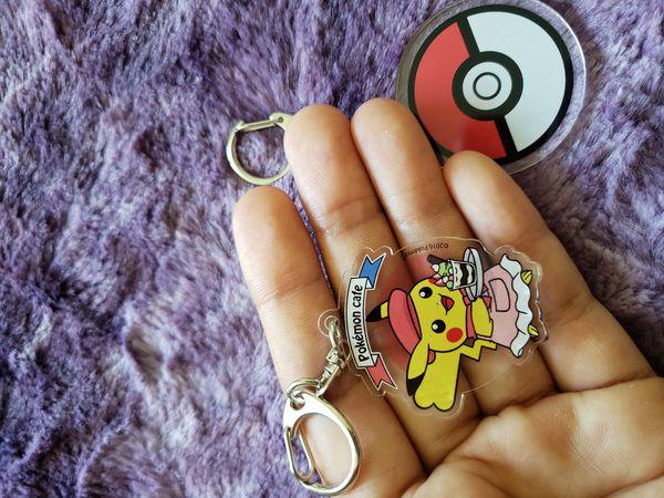 Exclusive Pokemon keychains