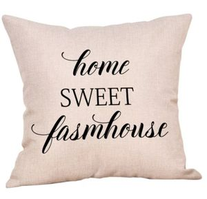 Home sweet farmhouse pillowcase for Sale in Taunton, MA