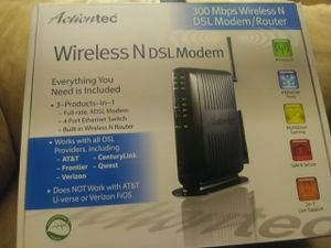 WIRELESS N DSL MODEM for Sale in Belton, SC