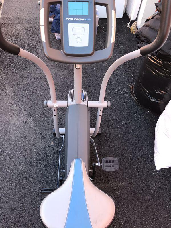 Proform XP wind-cycle elliptical