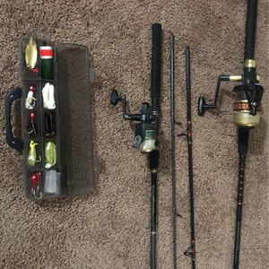 2 Fishing Rods & Reels for Sale in Lakeside, CA
