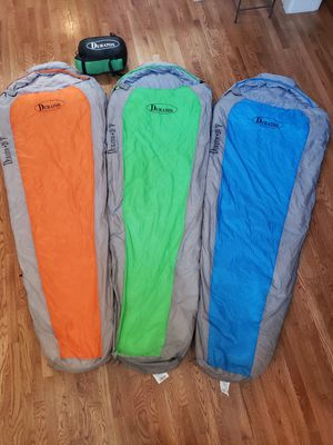 Duraton +20°F Mummy Sleeping Bag for Sale in Bothell, WA