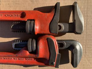 "Rigid 14"" steel Pipe wrench and Spud wrench combo for Sale in Blue Ridge, VA"