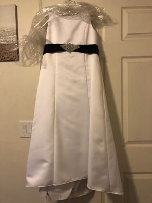 Wedding dress. Flower girl dress for Sale in Bear Creek, NC