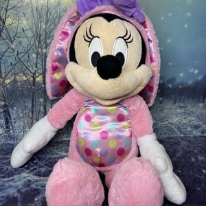 "Minnie Mouse Pink Easter Bunny Plush 16"". for Sale in Bellflower, CA"