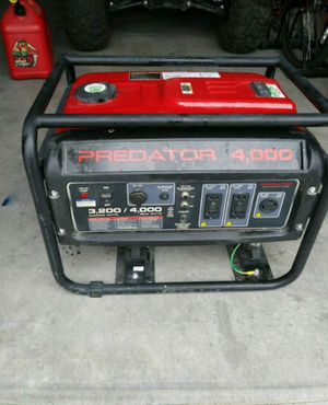 Gas powered generator predator for Sale in Los Angeles, CA