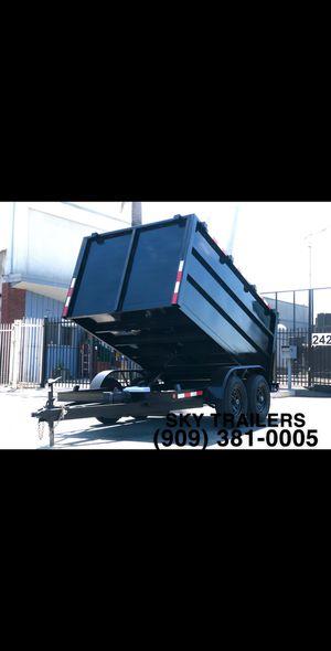 8 X 10 X 4 DUMP TRAILER FACTORY DIRECT! SKY TRAILERS for Sale in Costa Mesa, CA