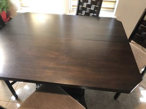 Dining table set - pub style for Sale in Allen, TX