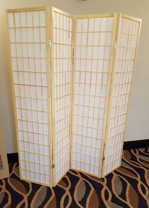 Brand New 4 Panel Room Divider for Sale in Silver Spring, MD