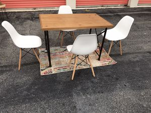 Nice kitchen table & 4 chairs ONLY😍NO Holds-No Deliver-NOT selling separate for Sale in Raleigh, NC