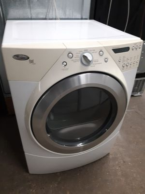 SALE, WHIRLPOOL FRONT LOAD ELECTRIC DRYER WORKING PERFECTLY ONLY $125.00 for Sale in Baltimore, MD