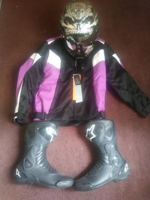 Motorcycle gear for Sale in Riverdale, IL