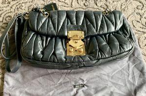 Mui Mui black leather bag. for Sale in Newport Beach, CA