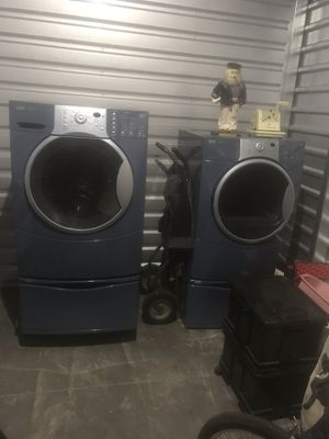 Kenmore elite industrial strength and size washer and drier like new for Sale in Pittsburg, CA