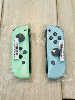Nintendo Switch Animal Crossing Special Edition Joycon Controllers Brand New for Sale in Ashburn,  VA