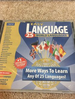 25 Languages Software for Sale in Las Vegas,  NV