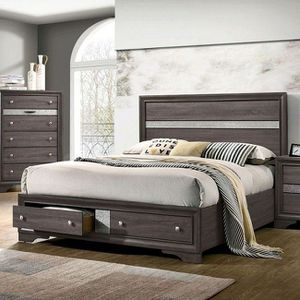 Queen size Chrissy Bed with storage, available in 2 sizes $369.00 On sale now! FREE DELIVERY! IN STOCK! for Sale in Ontario, CA