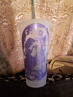 Nightmare before Christmas Starbucks Venti cup for Sale in Los Angeles, CA