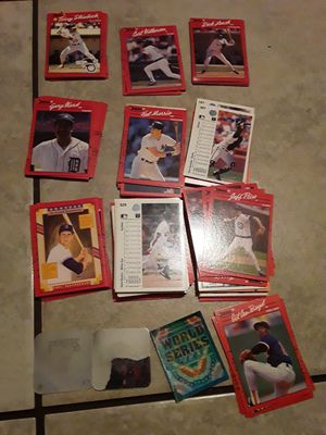 Old 1990 baseball cards for Sale in Fort Worth, TX