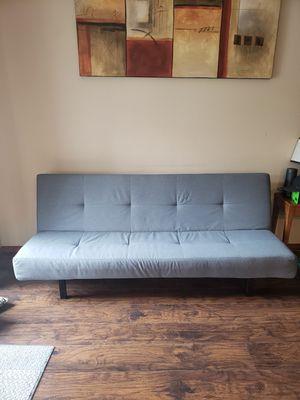 Gray Futon for Sale in Cornelius, OR