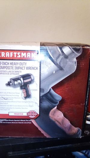 Craftsman 1/2 in compos for Sale in Fresno, CA