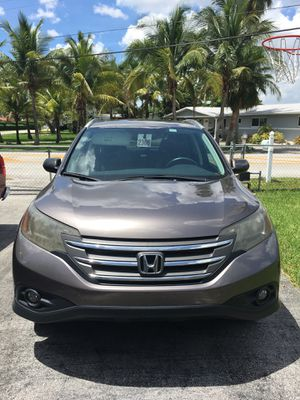 2014 Honda CRV SUV LXE Leather seats Sunroof A/C for Sale in Fort Lauderdale, FL