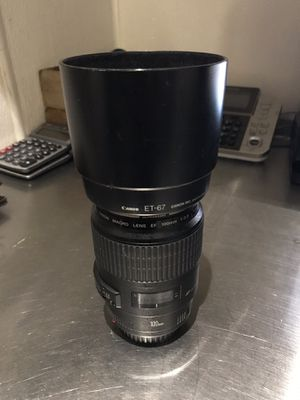 Canon Lens 100 2.8 with Hood for Sale in Los Angeles, CA