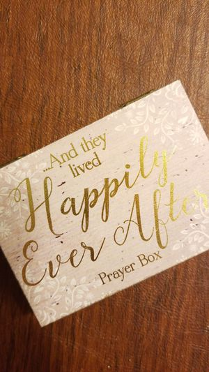 Happily ever after prayer box for Sale in Fairfax, VA