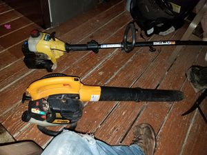 Poulan Pro leaf blower, works great! Comes with weed eater for Sale in Fenton, MO
