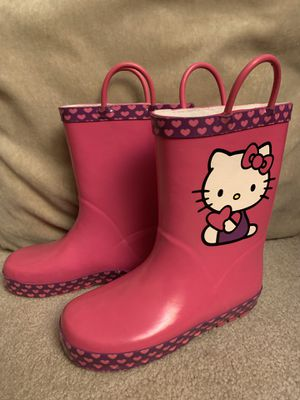Hello Kitty Rain boots for Sale in Plano, TX
