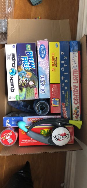 Kids board games for Sale in Chicago, IL