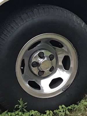 Chevy Chrome Rims (4) for Sale in Bowie, MD