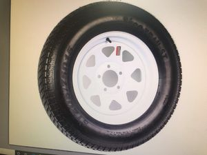 New 15 inch trailer wheel and tire for Sale in Gresham, OR