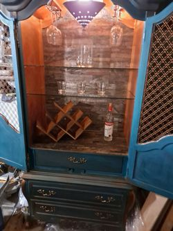 Wine Cabnet/Armoire for Sale in Spring Valley,  CA