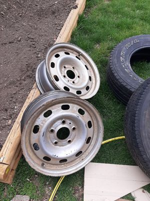 150 rims and tireds. for Sale in Des Moines, IA