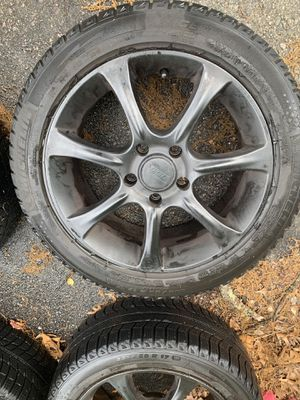 BMW Sport edition wheels w/ Michelin tires for Sale in Millis, MA