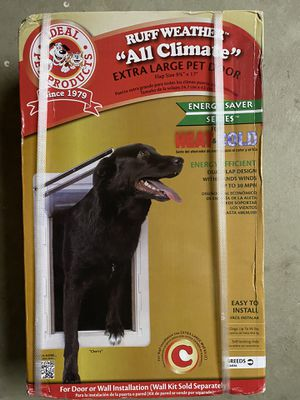 Ideal Pet Products extra large pet door for Sale in Millersville, MD