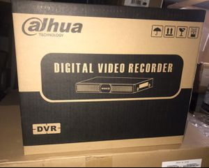Dahua camera recorder $50 each Brand New sealed 4 channels I have 4, 8 and 16 channel HDCVI dvrs too. Prices vary Leave your number or I might not re for Sale in Fort Lauderdale, FL
