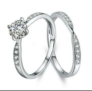 Engagement Wedding Ring Set Size 7 Brand New Shipping Only (A6) for Sale in Los Angeles, CA