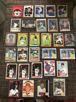 30 Nolan Ryan Baseball Cards! for Sale in Marysville, WA
