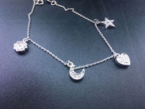 Silver Charm Bracelet for Sale in Trenton, NJ