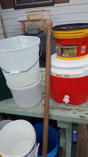 Buckets/Buckets and more!!! for Sale in East Petersburg, PA