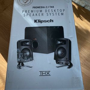 Klipsch ProMedia 2.1 With Subwoofer BRAND NEW for Sale in Atlanta, GA