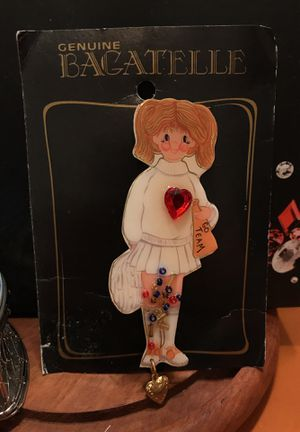 Adorable Genuine Bagatelle Cheerleader Pin for Sale in Gainesville, VA