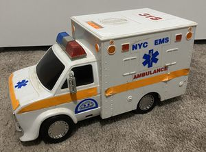 Vintage Rescue 318 NYC EMS Ambulance Truck Car Collectible Toy Souvenir - Not Working for Sale in Chapel Hill, NC