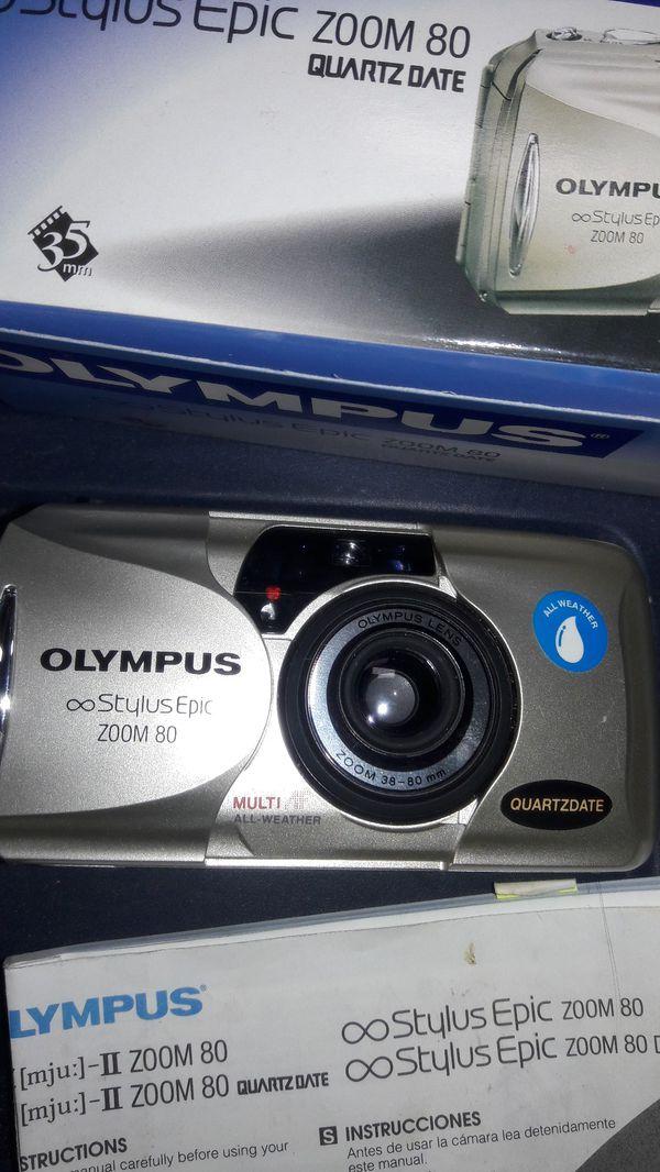 olympus stylus epic zoom 80 digital camera quartz date