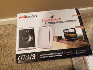 Polk Audio OWM3 White for Sale in Seattle, WA