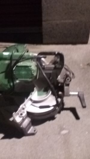 Metabo compound miter saw for Sale in Colton, CA