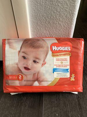 Huggies Little Snugglers Size 2 for Sale in Las Vegas, NV