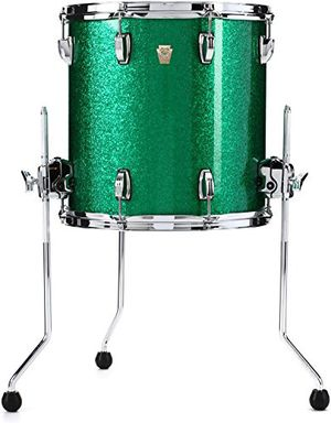 Ludwig classic maple 14x14 floor tom, green sparkle for Sale in Beaverton, OR